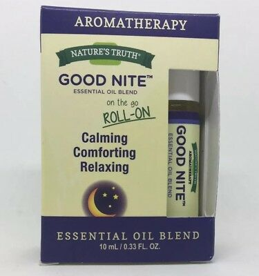 Nature's Truth Good Nite Essential Oil Roll-On Blend 0.33 oz Brand New