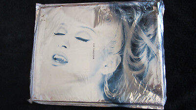 Madonna 1992 'SEX' Book, Aluminum Cover, Limited Numbered Set, Sealed Erotica CD