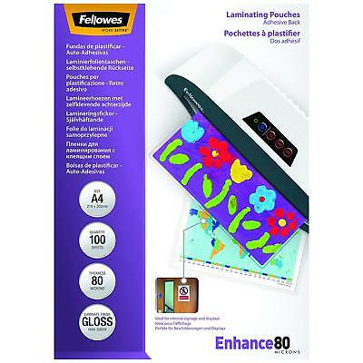 3L Professional A4 Self Adhesive Laminating Pouches Heavy Duty Document Card NEW