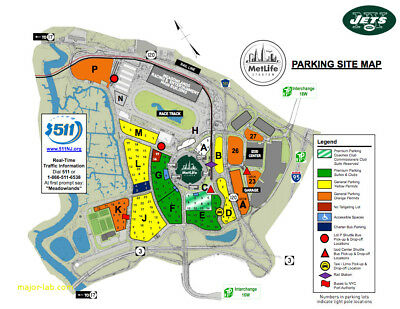 Texans@NY Jets-HEY JETS FANS! 12/15/18-Yellow Parking Passes-MetLife Stad