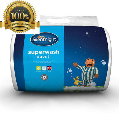 Silentnight Superwash Duvet, 10.5 Tog - Single