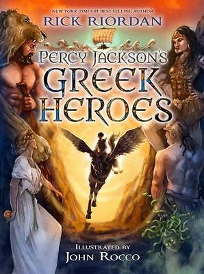 Percy Jackson's Greek Heroes by Rick Riordan - HARDCOVER - BRAND NEW!