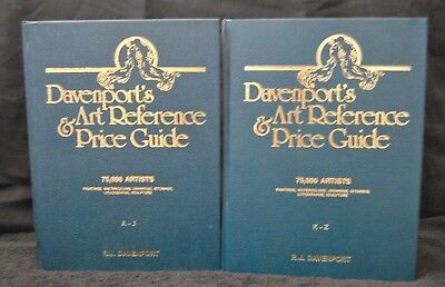 Davenport's Art Reference & Price Guide 1990/91 Edition Two Volume Set