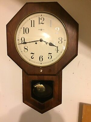 8 Day howard miller Chime Clock Wall 15-1/2x25 Inches Tall 6 Inc Deep