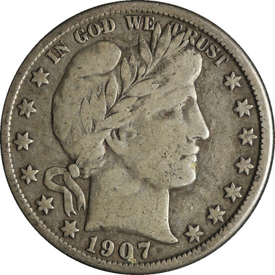 1907-O Barber Half Dollar Great Deals From The Executive Coin Company