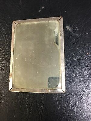 Vintage Small Antique Mirror W/Stand