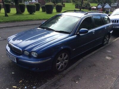 Jaguar x type estate for spares or repair