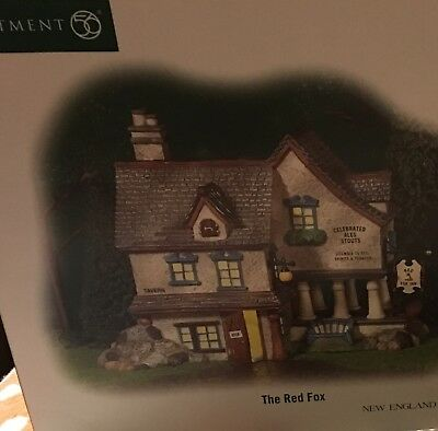 DEPT 56 NEW ENGLAND VILLAGE THE RED FOX *Excellent Display*