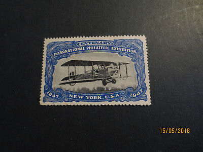 No--5-1947 Centenary  Inter; Philatelic  Expo  New York  U.s.a.--Great  Issue