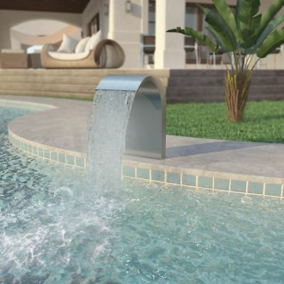 Pool - Fountain Stainless Steel 45 x 30 x 65 cm Silver