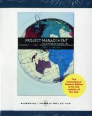 Project Management: The Managerial Process by Gray, Clifford F.; Larson, Erik W.