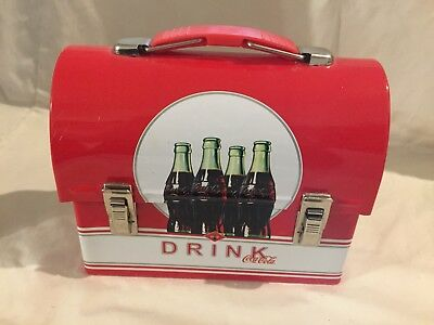Coca Cola Small Carry-All Lunch Box Tin