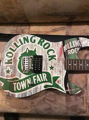 ROLLING ROCK Stratocaster Electric Guitar Squier by Fender  (new other)