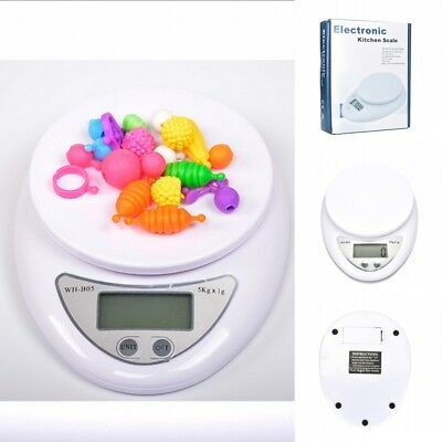 Portable Digital Electronic Kitchen Food Jewelry Weight Balance Scale 5kg/1g