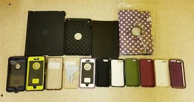 Lot of 15 Various Tablet / iPhone 6 / 6+ Cases! *USED*