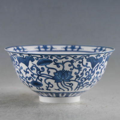 Exquisite Chinese Porcelain Handmade Flowers Bowls Qianlong Mark