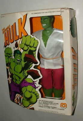 1976 Mego The Incredible Hulk 12 Inch Figure Mint In The Box