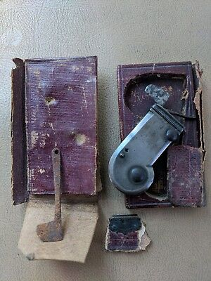Civil War Medical Mechanical Bleeder Surgical Knife with Case and Spare Fleam