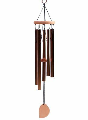 "BEAUTIFUL WIND CHIMES - Tuned 22"" Wood Windchimes Deliver Rich, Full, Relaxin..."