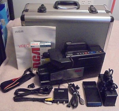 Vintage RCA Camcorder CPR250 with Case and Accessories
