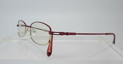 Flex Titanium Kory Red Eyeglass Frames Glasses Womens Mens Flexible