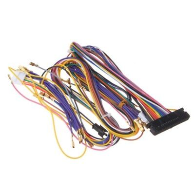 Size 4 8Mm Standard Jamma Microswitch Size With Wiring ... Jamma Full Cabinet Wiring Harness Loom on warping a 4 harness loom, electric harness for loom, wiring loom sleeve,