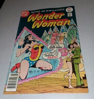 DC Comics WONDER WOMAN #231 Justice Society bondage headlights cover bronze age
