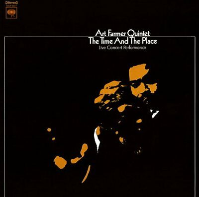 THE ART FARMER QUINTET-THE TIME AND THE PLACE-JAPAN CD Ltd/Ed B63