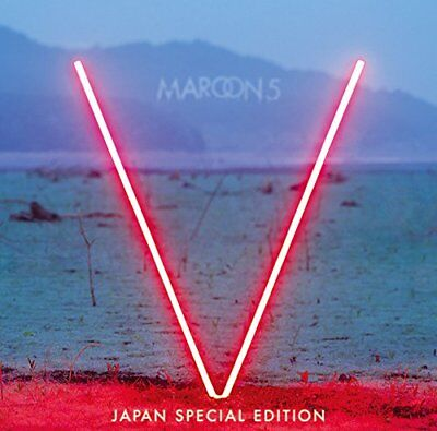 2015 Maroon 5 V Japan Special Edition Cd New Song This Summer Total 17 Tracks