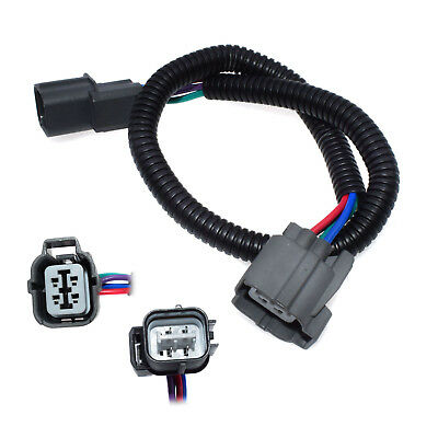 New 4 Wire O2 Oxygen Sensor Extension Cable Harness For Honda Civic Integra Fit