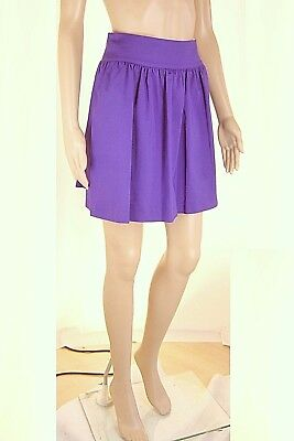 MiniGonna Donna Gonna VIOLET ATOS LOMBARDINI Made in Italy H914 Tg 38 40