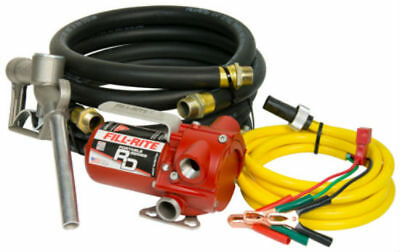 Fill-Rite RD812NH Portable DC Pump with Hose and Nozzle, 12 Volt