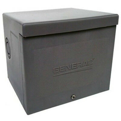 Generac 6337 Resin Power Inlet Box for Generators Up To 8000W, 30A