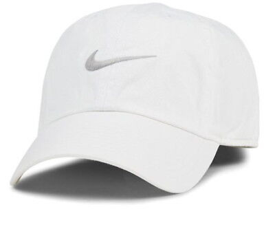 Nike Heritage86 Swiisg Cap/Hat Adjustable Baseball Cap Outdoor Sports Golf White