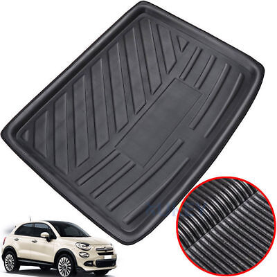 Tailored Cargo Boot Liner Tray Trunk Floor Mat Carpet For Fiat 500X 2014-2018
