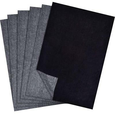 25 Sheets Carbon Transfer Graphite Paper Black Tracing Sheets Wood Canvas Art