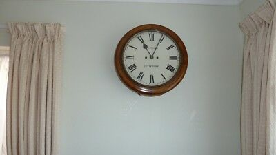 Superb Walnut Double Fusee Wallclock, in working order