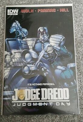 Judge Dredd Comic - Mega City Two - City of Crows - Issue 2 - IDW