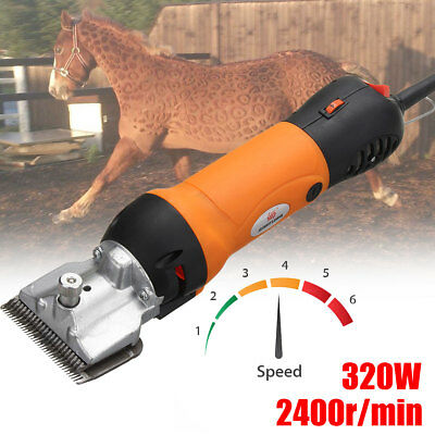 300W Electric Horse Sheep Clipper Shears Shearing Machine Goat Trimmer Shaver