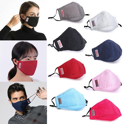 New Unisex Cycling Anti-Dust Cotton Mouth Face Mask Masks Respirator Breathable