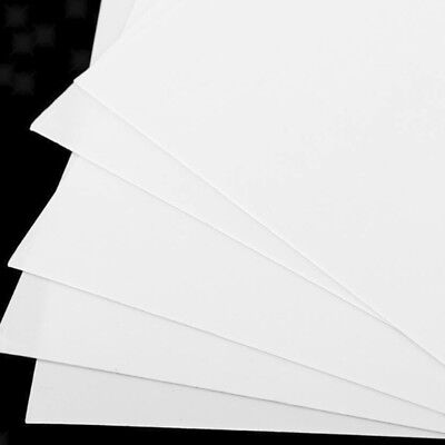 5pcs ABS Plate Model Styrene Sheets For DIY House Ship Aircraft 200x250x0.5mm