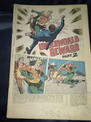 Aquaman #45 1969 Missing Cover Silver Age