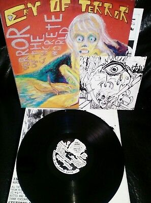 "CRY OF TERROR LP+7'EP - ""Terror of the Concrete World / Cry of Terror"""