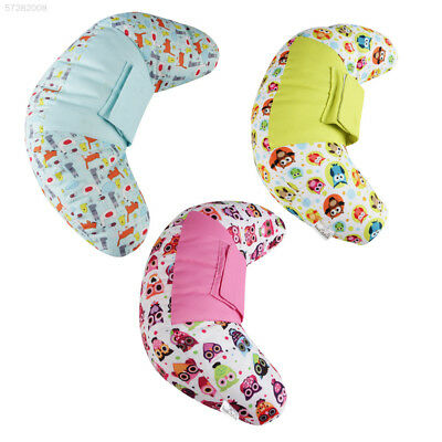 0A73 Car Seat Seat Belt Infant Car Pillow Soft 3 Colors Vehicle Auto Headrest