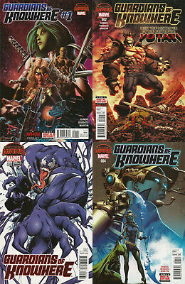 Marvel Comics - Guardians Of Knowhere #1 #2 #3 Variant #4 - Secret Wars - New