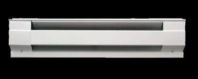 """WALL MOUNT ELECTRIC BASEBOARD HEATER 30"""" White Room Radiant Convection Heat 120V"""