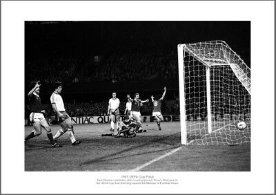 Ipswich Town 1981 Uefa Cup Final Paul Mariner Goal Photo Memorabilia