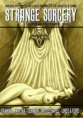 080 STRANGE SORCERY #9 Rainfall chapbook.Tales inspired by Clark Ashton Smith