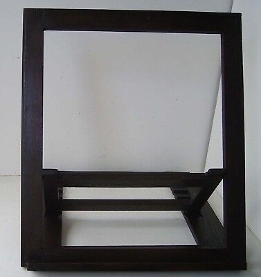 Stand Adjustable Solid Oak Picture Display