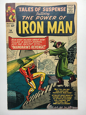 TALES OF SUSPENSE #54 1964 Jack KIRBY cover Stan LEE Captain America Iron Man